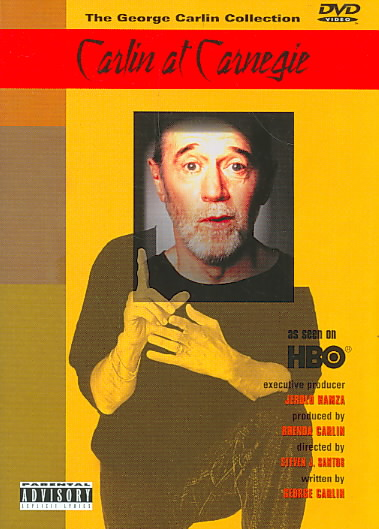 CARLIN AT CARNEGIE BY CARLIN,GEORGE (DVD)